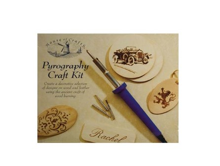 Pyrography Craft Kit