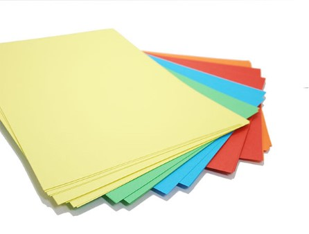 A4 Assorted Colour Paper 250 sheets