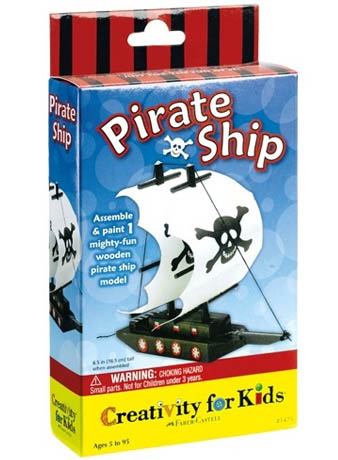Creativity for Kids: Make your own Pirate Ship