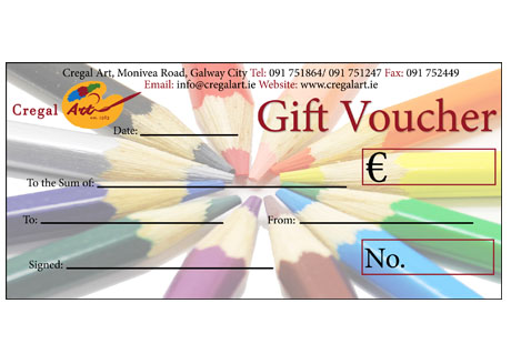 Cregal Art Gift Voucher