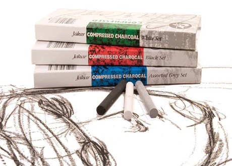 Jakar Black Compressed Charcoal 12pk