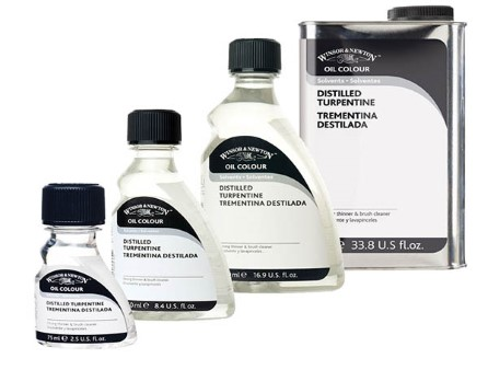 Winsor & Newton Turpentine, English Distilled - Cregal Art | Art and